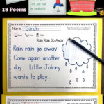 Read Trace Color ~ Nursery Rhyme Printables | Nursery Rhymes