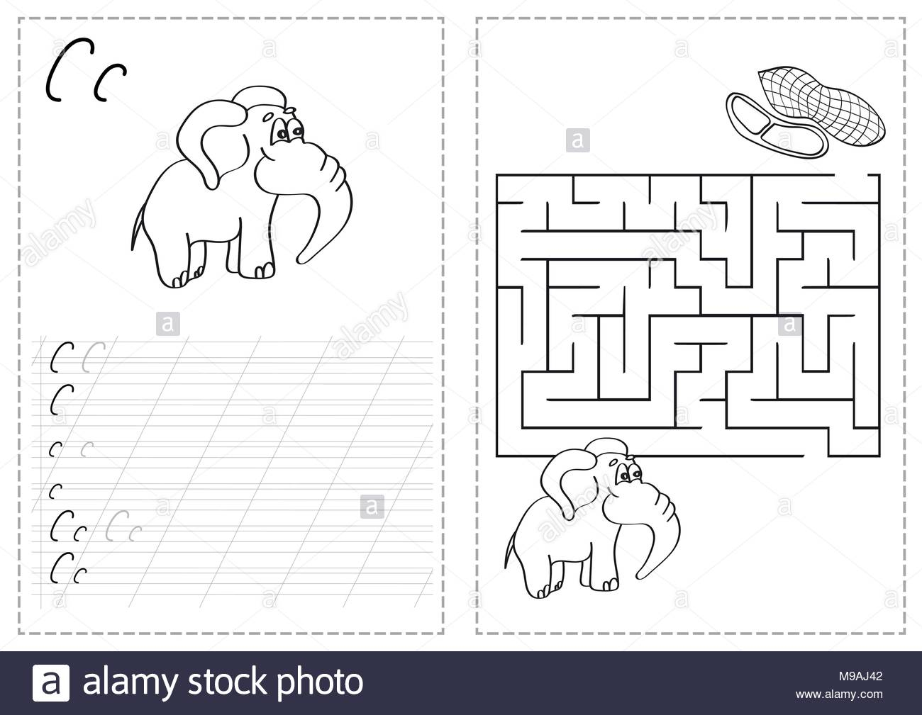 Russian Alphabet Black And White Stock Photos & Images - Alamy