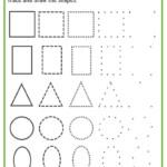 Shapes Worksheets For Preschool [Free Printables]   Shape