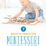 Teaching The Montessori Alphabet | Sleeping Should Be Easy