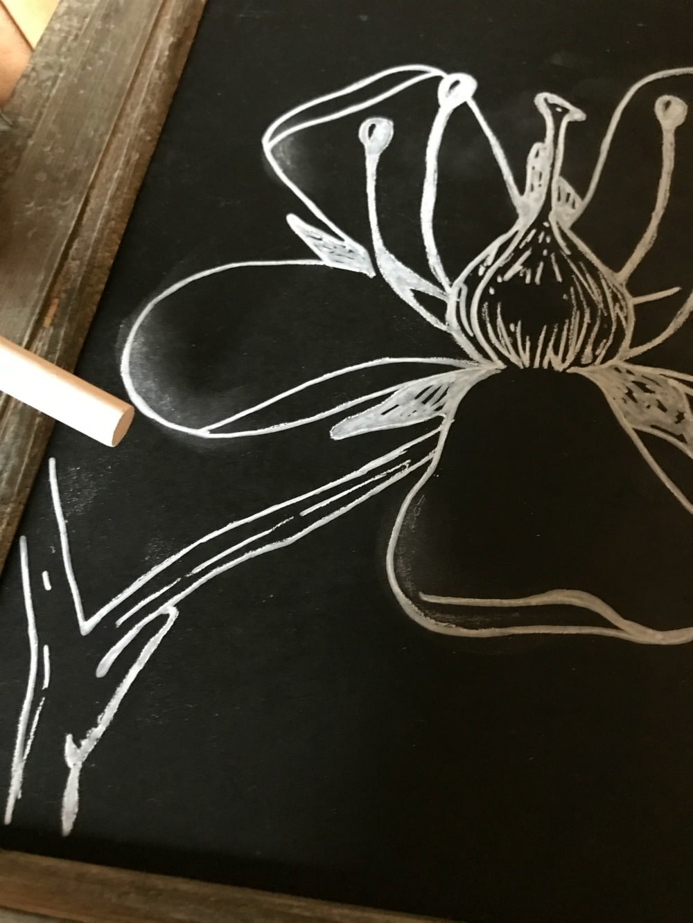 The Easy Trick To Diy Chalkboard Art And Lettering | Good In