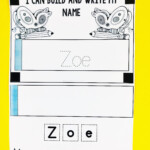 These Editable Name Practice Mini Books Are So Versatile For