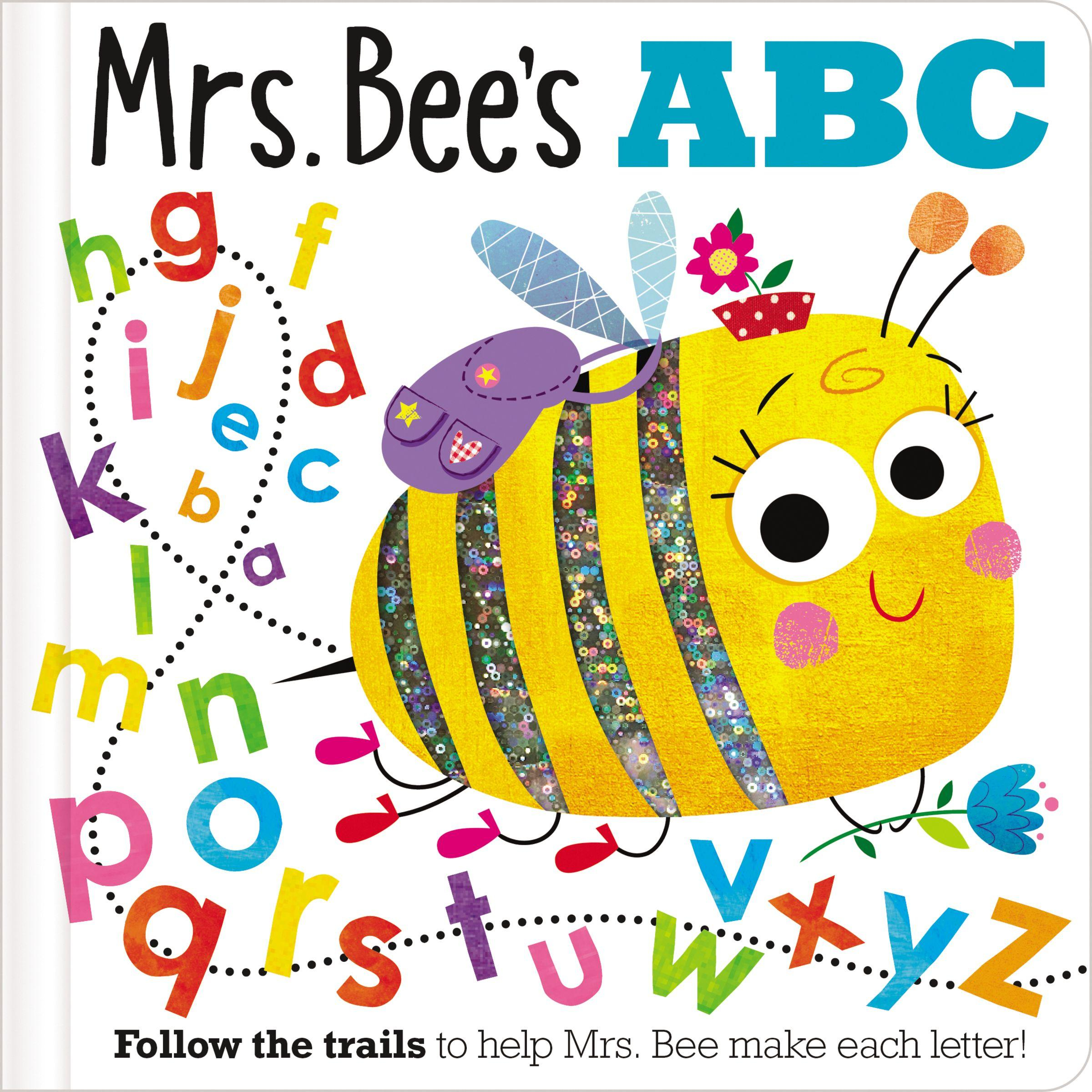 Trace And Flap: Mrs Bee's Abc (Board Book) - Walmart