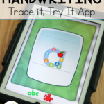 Trace It, Try It Handwriting App - This Reading Mama
