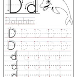 Trace Letter D Worksheets | Tracing Worksheets Preschool