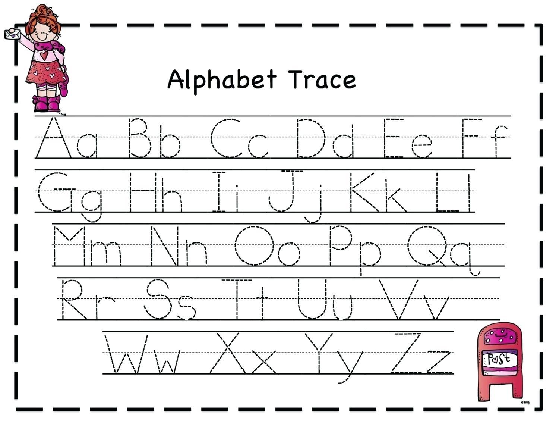 Trace Letters Printables Alphabet Tracing Worksheets Unique
