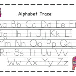 Trace Letters Printables Alphabet Tracing Worksheets Unique