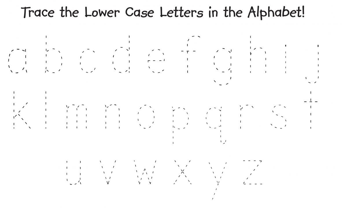 Trace The Alphabet Uppercase And Lowercase Printable