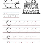 Trace The Letter C Worksheets | Preschool Letters, Letter