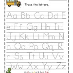 Traceable Alphabet For Learning Exercise | Alphabet Tracing