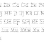 Tracing Abc With Arrows Dotted Print   Alphabet Tracing
