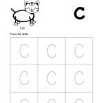 Tracing-Alphabet-Capital-Letter-C-For-Kids - Your Home Teacher