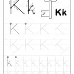 Tracing Alphabet Letter Black White Educational Pages Line