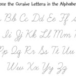 Tracing Cursive Worksheet Sentence | Printable Worksheets