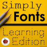 Tracing Font - Handwriting Font - Early Writers
