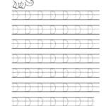 Tracing Letter D Worksheets For Preschool | Letter D