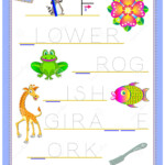 Tracing Letter F For Study English Alphabet. Printable