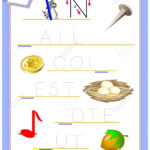 Tracing Letter N For Study English Alphabet. Printable Worksheet..