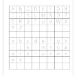 Tracing Letters A-Z Worksheets | อนุบาล