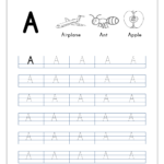 Tracing Letters - Letter Tracing Worksheets - Capital