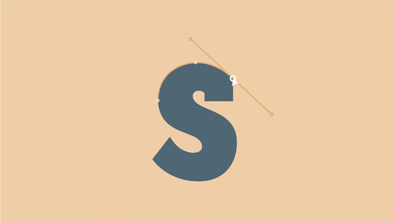 Tracing Letters With The Pen Tool In Adobe Illustrator Cc