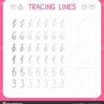 Tracing Line Worksheet | Tracing Lines. Worksheet For Kids