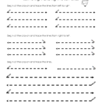 Tracing Lines Worksheet Set 1 | Tracing Lines, Line Tracing