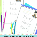 Tracing Name Practice Sheets In 2020 | Name Practice, Name