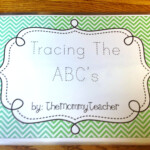 Tracing The Abc's Book – The Mommy Teacher