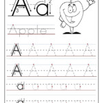 Tracing The Letter A Free Printable | A | Printable