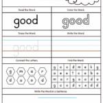 Tracing Worksheet For Preschool Names | Printable Worksheets