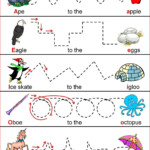 Tracing Worksheets For 3 Year Olds | Printable Worksheets