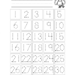 Unusual Preschool Lesson Plans For Numbers 1-10 Trace The