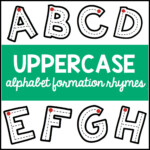 Uppercase Alphabet Formation Rhymes