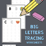 Uppercase Letters Tracing Worksheets (Set 1) In 2020 (With