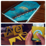 We Made Wand Styluses And Spell Trace Stencils! : Harrypotterwu