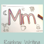 What Is Rainbow Writing - Fun, Engaging Activity - 4 Kinder