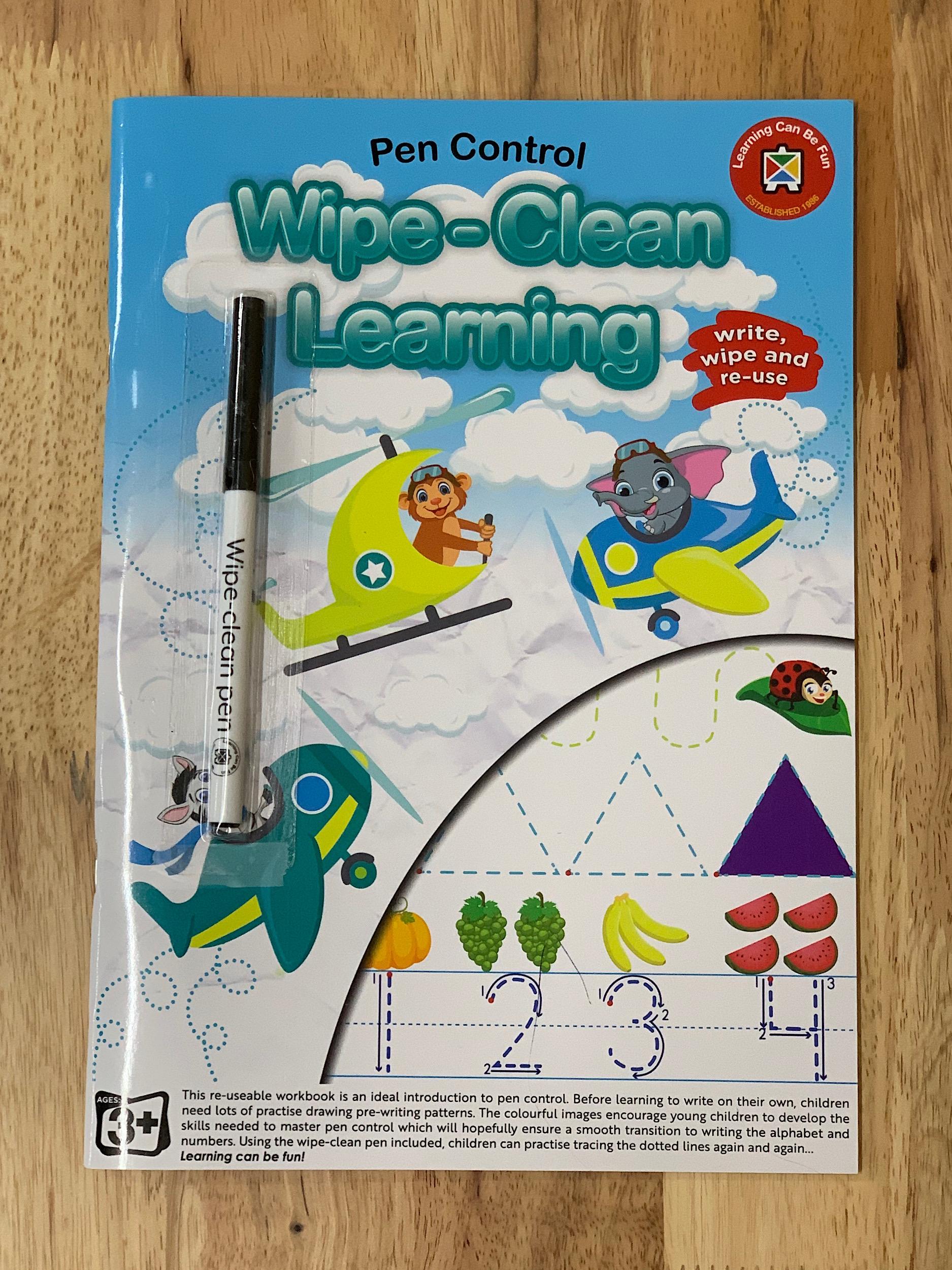 Wipe Clean Learning Pen Control
