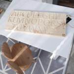 Wooden Alphabet Finger Tracing Board