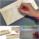 Wooden Alphabet Tracing - Lowercase A-Z Tracing Boards - Pre