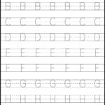 Worksheet ~ Astonishing Alphabet Tracing Practice Sheets
