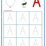 Worksheet ~ Capital Letter Tracing With Crayons 01 Alphabet