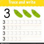 Worksheet ~ Depositphotos 290410176 Stock Illustration Trace