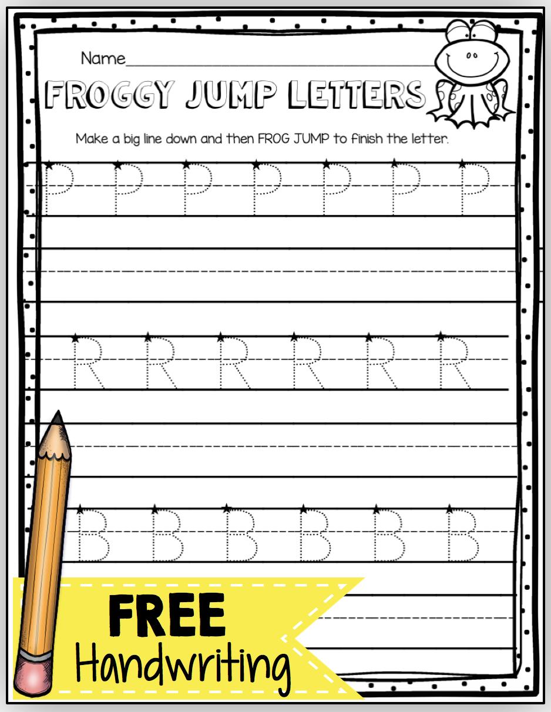 Worksheet ~ Free Handwriting Worksheetsor Kids Practice