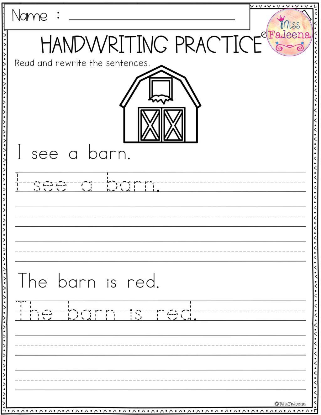 Worksheet ~ Free Handwritingtst Generator For Kids Free