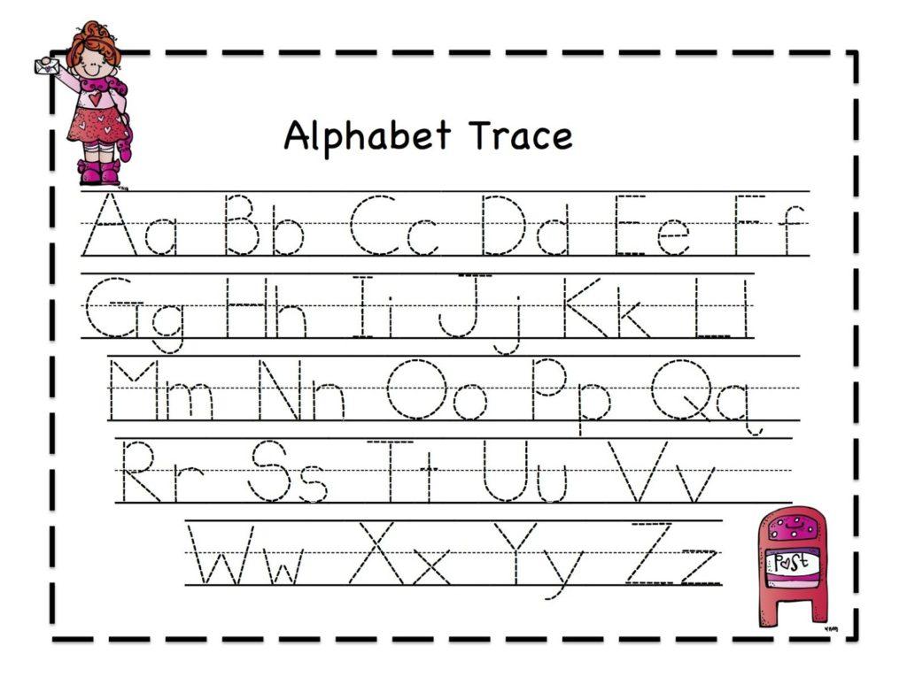 Worksheet ~ Tracing Sheets For Preschoolids Alphabet