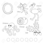 Worksheet ~ Tracing Worksheet For Children Full English