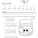 Worksheet ~ Worksheet Alphabet Writing Practice Letter J At