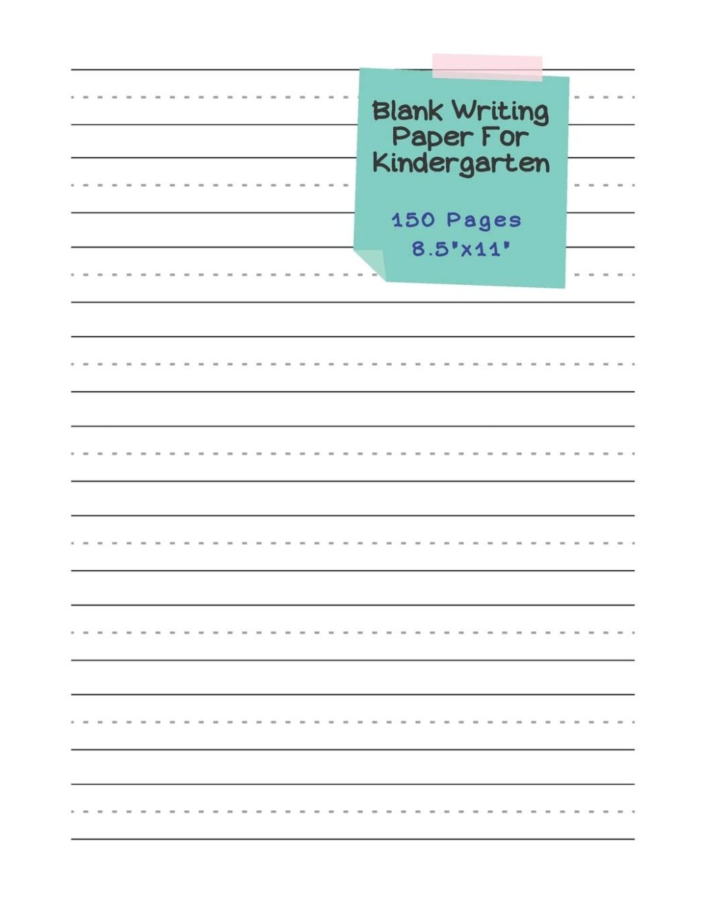 Worksheet ~ Worksheet Writing Pages For Kindergarten Blank