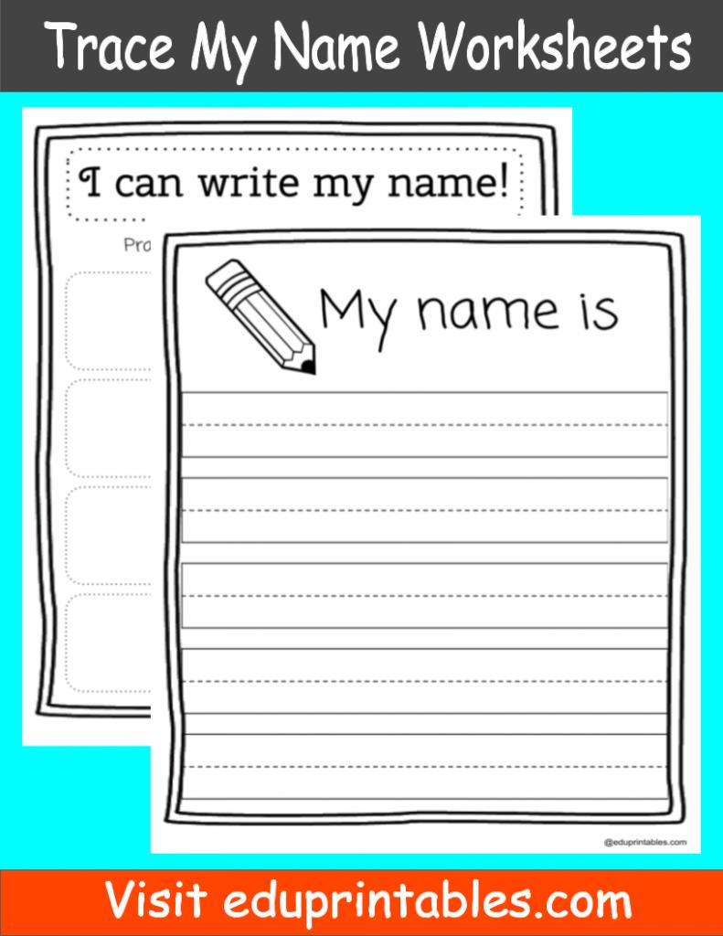 Worksheets : Name Tracing Printable Eduprintables Fabulous